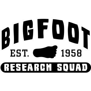 Bigfoot Research Squad Sasquatch 1958