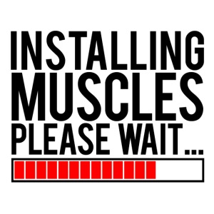 Installing Muscles Gym Motivation