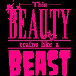 This beauty trains like a beast