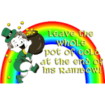 Leave the Pot of Gold - Yellow