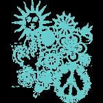hippie doodle
