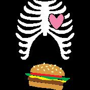 Burger skellington