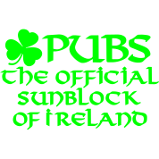 Pubs, the official sunblock of Ireland