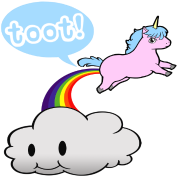 Toot! Unicorn Fart