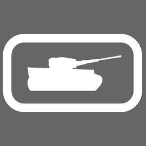 Tank Logo (White) - Axis & Allies