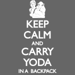 Keep Calm and Carry Yoda