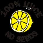 100% Juice - No Seeds