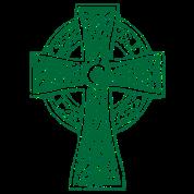 Classic Vintage Style Celtic Cross Crucifix Shirts
