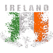 Ireland Irish Classic Vintage Retro Flag Design