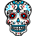 Skull, Mexico, flowers, patterns, skulls, mexican,