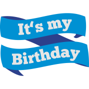 Today it's my Birthday