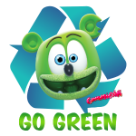 Gummibär Go Green Recycle