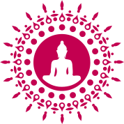 Buddha meditation, spiritual symbol enlightenment