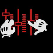dj mickey hands