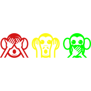 3 Wise Monkeys Emoticon