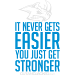 you just get strongerwh Gym Motivation