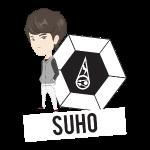 EXO - Chibi Suho (Dark Shirts)