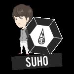 EXO - Chibi Suho (Light Shirts)