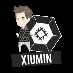 EXO - Chibi Xiumin (Light Shirts)
