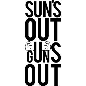 Suns Out Gym Motivation