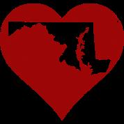 Maryland Heart Clothing Apparel Shirts