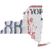 New York State License Plate Clothing Apparel Tees