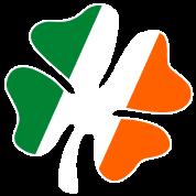 Big Vintage IRISH Flag Shamrock