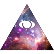 Illuminati, All Seeing Eye, Pyramid, Galaxy, Space