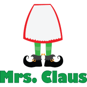 Mrs Claus Christmas Couple