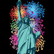 Lady Liberty Fireworks