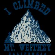 I climbed Mt. Whitney