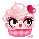 Cute Cupcake - Cherry Vanilla