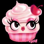 Cute Cupcake - Cherry Vanilla