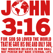 JOHN 3:16 FOR GOD SO LOVED THE WORLD