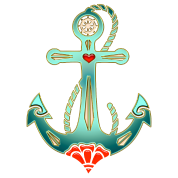 Anchor Tattoo Style, Sea, Hope, Faith & Love