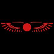 Winged Sun Disk, Solar symbol, Ra, Falcon, Cobra