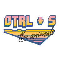 Design ~ CTRL+S The Animals: 80s Gradient & Brush
