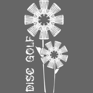Disc Golf Flowers Frolf Basket