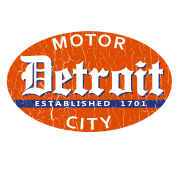 Vintage Detroit (distressed design)