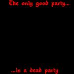 Dead Party (Black)