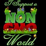 I Support a Non-GMO World