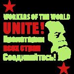 Marxist Workers Unite Slogan T-Shirts