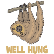 Sloth Well Hung