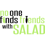 No one finds friends with salad