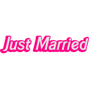 Just Married! cute recently married couples shirt