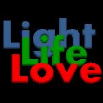 Light Life Love RGB Bold I