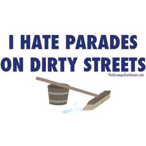 12 Parades (blue lettering)