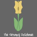 Shoe Tulip (white lettering)