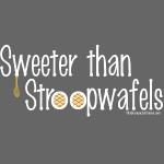 Stroopwafles (white lettering)