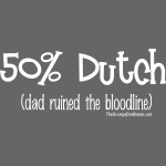 Bloodline - Dad (white lettering)